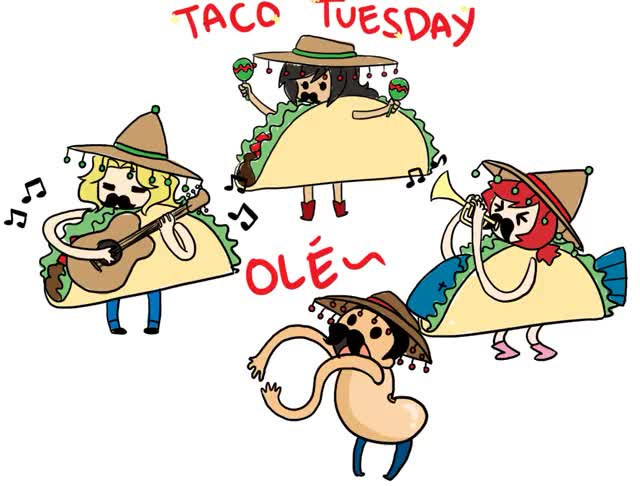 Watch and share Taco Tuesday By Anec Dotes GIFs on Gfycat