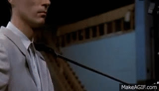 Talking Heads - Psycho Killer (Stop Making Sense) GIFs
