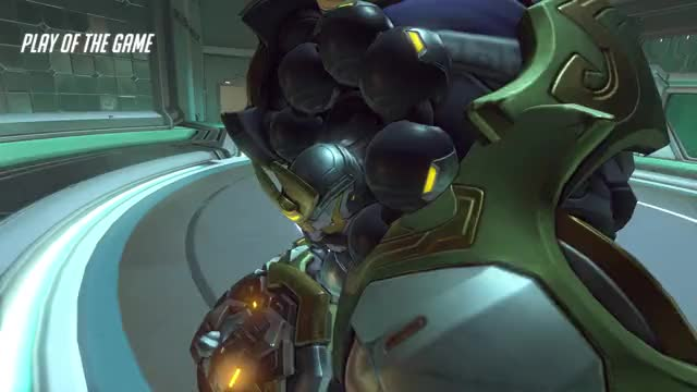 Watch from the heavens GIF by @cp4832 on Gfycat. Discover more overwatch, potg, reinhardt GIFs on Gfycat