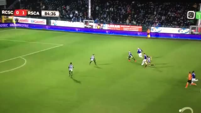Watch Sporting Anderlecht - 0-2 Acheampong, Teodorczyk with the assist. #ChaAnd #rsca GIF by Minieri (@minieri) on Gfycat. Discover more related GIFs on Gfycat