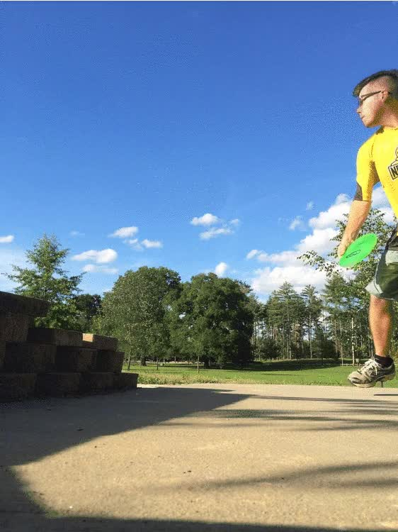 Watch Disc Golf on a Monday! GIF on Gfycat. Discover more related GIFs on Gfycat