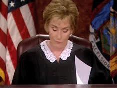 judge judy, judith sheindlin, judy sheindlin, tv court, judge judy angry GIFs