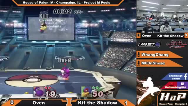 House of Paign IV] Oven (Yoshi) vs Kit the Shadow (Falco) - Project