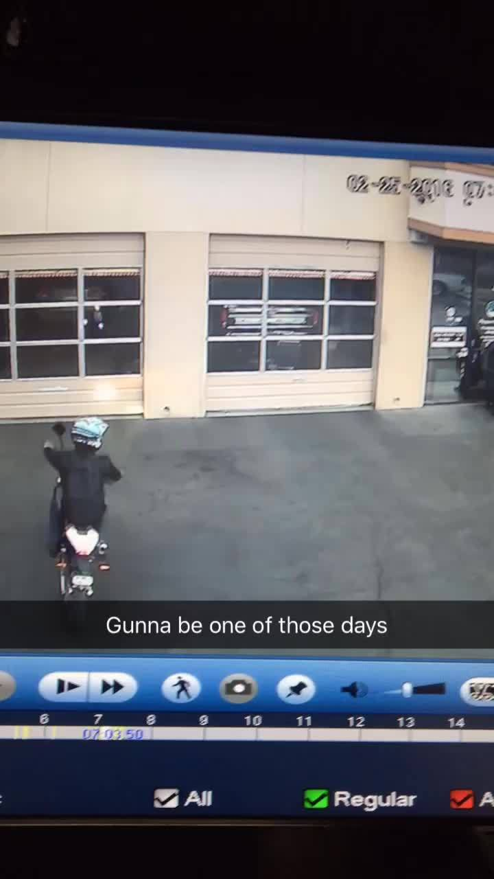 CalamariRaceTeam, SlyGifs, motorcycles, One of those mornings GIFs