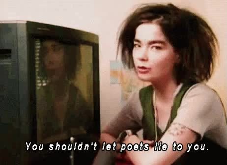 Watch and share Bjork Advice GIFs on Gfycat
