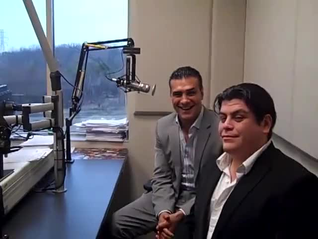Watch WWE Superstars Alberto Del Rio & Ricardo Rodriguez GIF by Blaze Inferno (@metaknightxprophets) on Gfycat. Discover more alberto del rio, chris cruise, fort wayne, hot 107.9, hot 1079, ricardo rodriguez, smackdown, wjfx, wwe, wwf GIFs on Gfycat