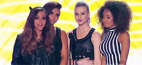 Watch presenting winning GIF on Gfycat. Discover more jade thirlwall, jesy nelson, leigh anne pinnock, little mix, lm, lmg, my edits, perrie edwards, tcas GIFs on Gfycat