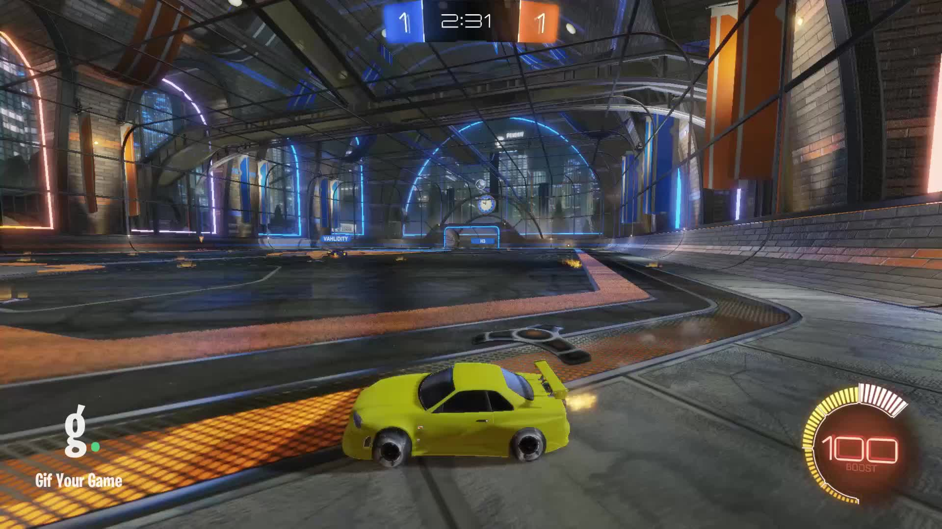 Gif Your Game, GifYourGame, Goal, Rocket League, RocketLeague, Sinnicole, Goal 3: Sinnicole GIFs
