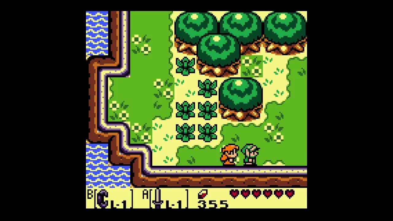 The Legend Of Zelda Link S Awakening Dx Bonus Clip Walrus Kills Self Because