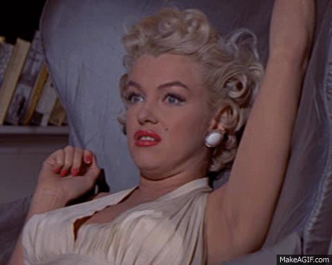 Marilyn Monroe, ew, ugh, yuck, Marilyn Monroe GIFs