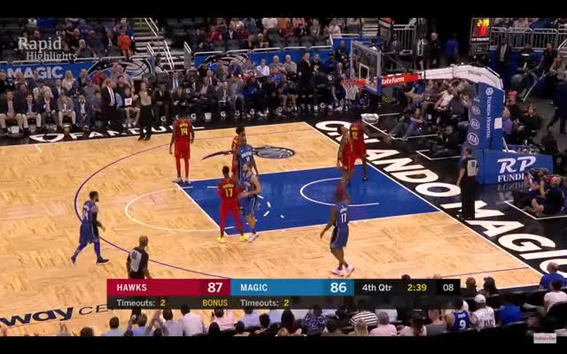 Watch and share Atlanta Hawks GIFs and Orlando Magic GIFs on Gfycat