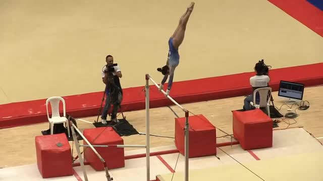 Watch gymnast GIF on Gfycat. Discover more GYMNASTICS, Sports, gymnast GIFs on Gfycat
