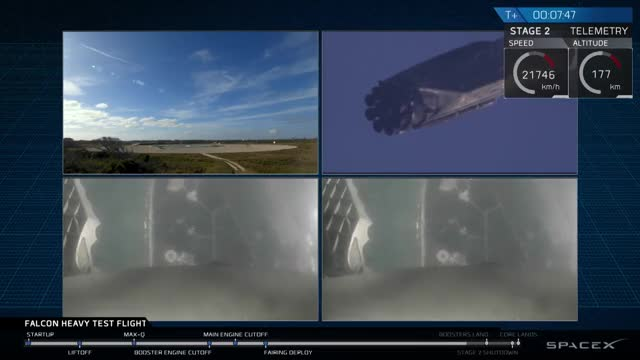 Watch Falcon Heavy Side Booster Landing GIF by @jumpingdonuts on Gfycat. Discover more future, space GIFs on Gfycat