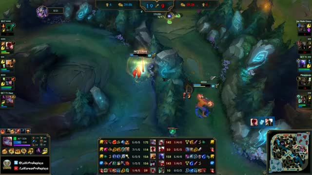 SKT T1 Huni Poppy vs Camille TOP Ranked Challenger Korea GIF by
