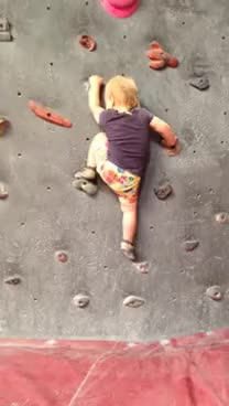 Watch and share Baby Climbing Indoors GIFs on Gfycat
