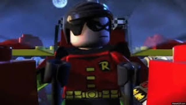 Watch Lego Robin GIF on Gfycat. Discover more related GIFs on Gfycat