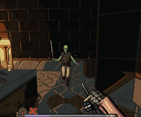 Watch Slasher's Keep - fighting a frozen orc GIF by Damian Schloter (@damiangamian) on Gfycat. Discover more Slasher's Keep, fps, game dev, gamedev, gaming, indie dev, indie games, indie gaming, indiedev, indiegames, indiegaming, pc gaming, roguelike, rpg, screenshots, screenshotsaturday, slashers keep, slasherskeep, video games GIFs on Gfycat