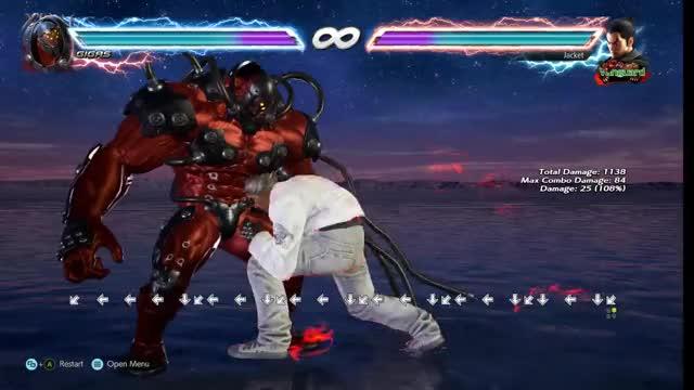 Watch and share Tekken GIFs by Jacket! on Gfycat