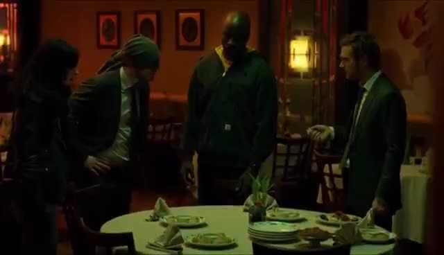 defenders, iron fist, jessica jones, Who is the Iron Fist?| Compilation of Every Time Danny Rand Name-drops Himself GIFs