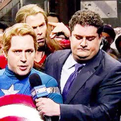 Watch and share Saturday Night Live GIFs and Captain America GIFs on Gfycat