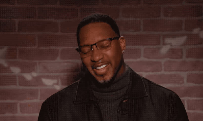 edition, epic, fuck, funny, haha, hilarious, jimmy, kimmel, laugh, lol, loud, mad, mcgrady, mean, nba, out, tracy, tweets, wtf, Tracy McGrady - Mean tweets nbs edition GIFs