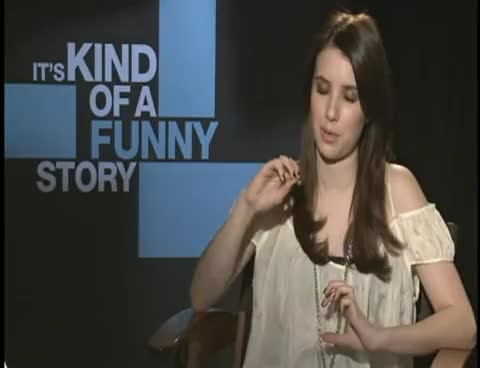 emma roberts, it\'s kind of a funny story, smile, Emma Roberts GIFs