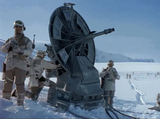 Watch and share Starwars GIFs and Hoth GIFs by chuckkahn on Gfycat