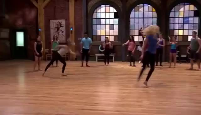 The Next Step - Extended A-Troupe Freestyle Auditions: Group
