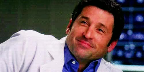 Watch derek shepherd, grey anatomy, mcdreamy, patrick dempsey GIF on Gfycat. Discover more patrick dempsey GIFs on Gfycat