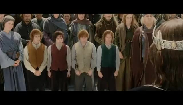 bow, bowing, frodo, lord of the rings, lotr, rotk, LOTR bow GIFs