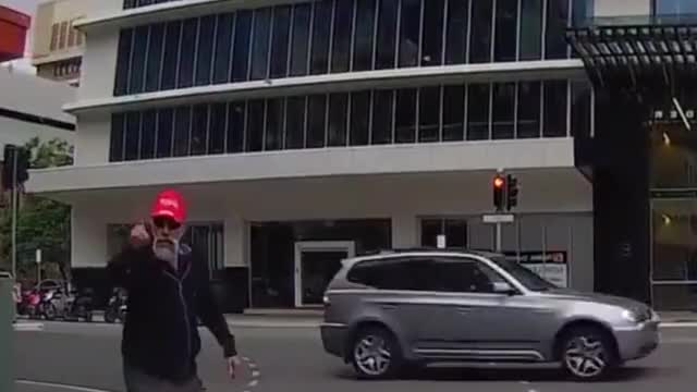 Watch and share Angry Pedestrian Walks Into Pole_1.mp4 GIFs by mexicanjesuschrist on Gfycat