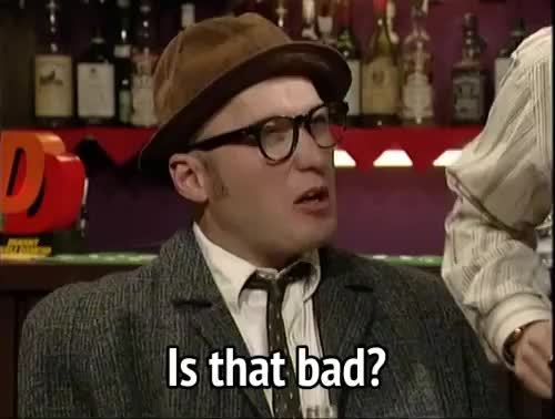 Watch this bad GIF by MikeyMo (@mikeymo) on Gfycat. Discover more adrian edmondson, bad, bottom, is that bad GIFs on Gfycat