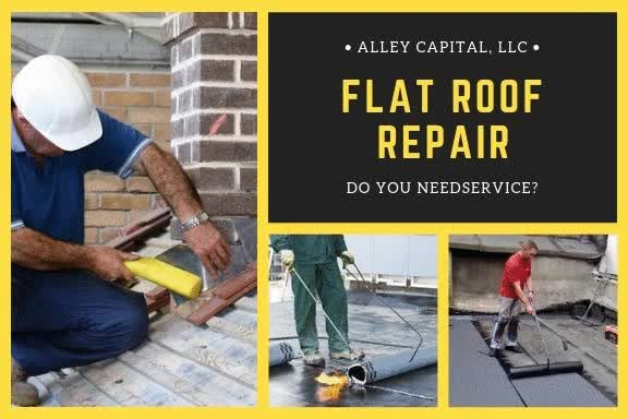 Watch and share Flat Roof Repair GIFs by alleyroofing on Gfycat