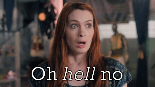 Felicia Day, no way, nope, oh no you didn't, oh no you didn't GIFs