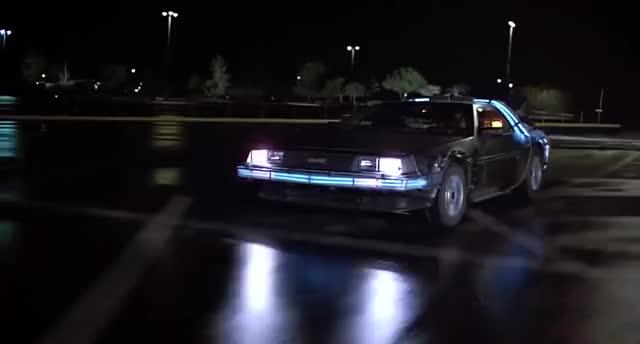 Watch BackToTheFuture GIF on Gfycat. Discover more Back To The Future Trilogy (Film Series), DeLorean DMC-12 (Automobile Model), Delorean, Michael J. Fox, Powrót do przyszłości, przeskok w czasie GIFs on Gfycat