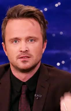 Watch and share Aaron Paul GIFs and Conan GIFs on Gfycat