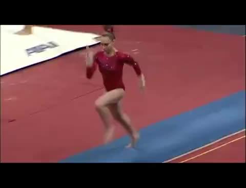 Watch and share Cassandra Whitcomb GIFs and Gymnastics GIFs on Gfycat