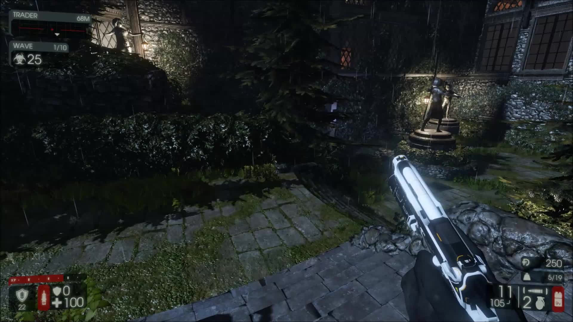 killingfloor, The lantern on Volter Manor has been