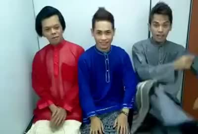 Watch and share Selamat Hari Raya Parody 2012 GIFs on Gfycat