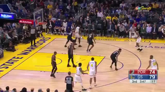 Watch and share Portland Trail Blazers GIFs and Golden State Warriors GIFs by dkurtenbach on Gfycat