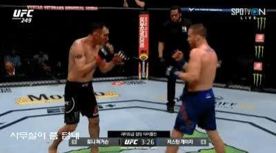 Watch and share UFC 라이트급 타이틀전, 토니 퍼거슨 Vs 저스틴 게이치 GIFs on Gfycat