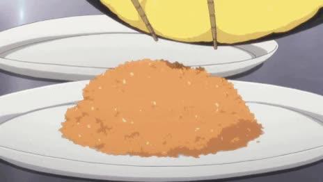 Watch and share Omurice From Hanasaku Iroha, Episode 20, Anime Food [Omrice Recipe]  GIFs on Gfycat