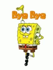 Watch and share Sponge Bob Bye GIFs on Gfycat