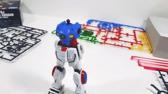 Watch and share HGFC Shining Gundam (part Of Gunpla Stop Motion Video.) GIFs on Gfycat