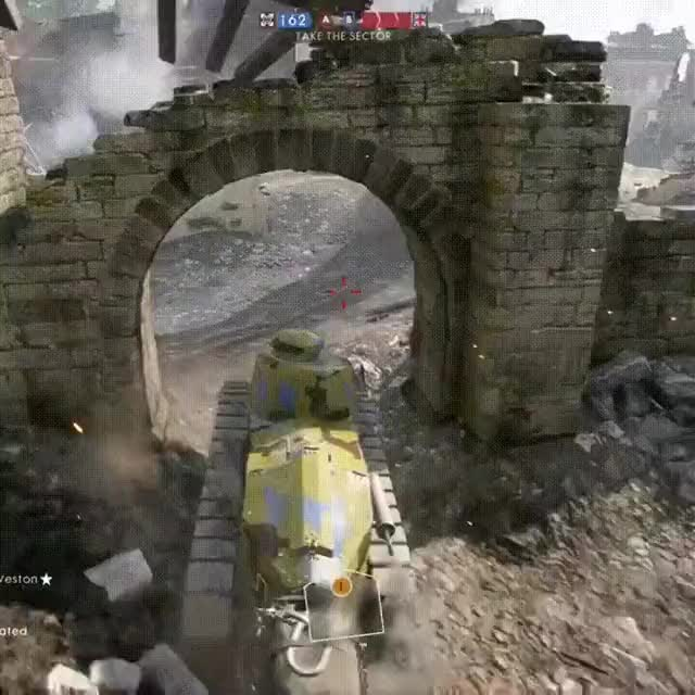 Watch Some light tank humor • r/battlefield_one GIF on Gfycat. Discover more related GIFs on Gfycat