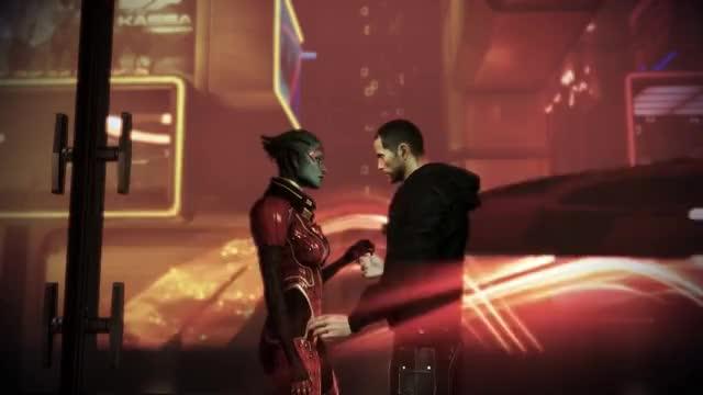 Watch Mass Effect 3 Citadel DLC: Samara Romance (MaleShep) GIF on Gfycat. Discover more Asari, DLC, Hug, ME3, Meeting, Shepard, apartment, bioware, citadel, cutscenes, flirt, justicar, kissing, romance, samara GIFs on Gfycat