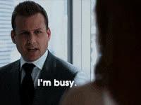 Gabriel Macht, busy, Busy GIFs