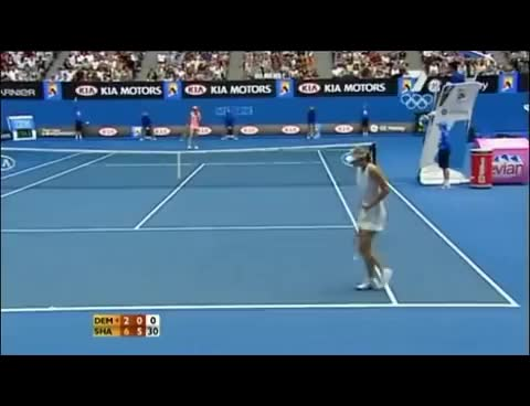 Watch and share Sharapova Gif GIFs on Gfycat