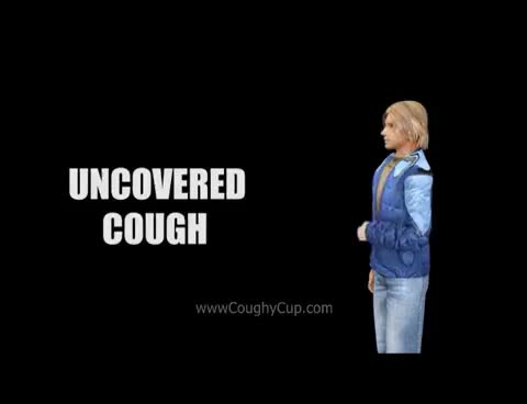 Watch and share Cough Aerosol Plume - Coughy Cup Video GIFs on Gfycat