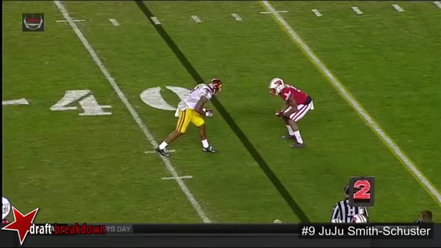 Watch and share JuJu Smith-Schuster(USC WR) Vs Wisconsin 2015 (diving Fade) GIFs by Sean McKaveney on Gfycat